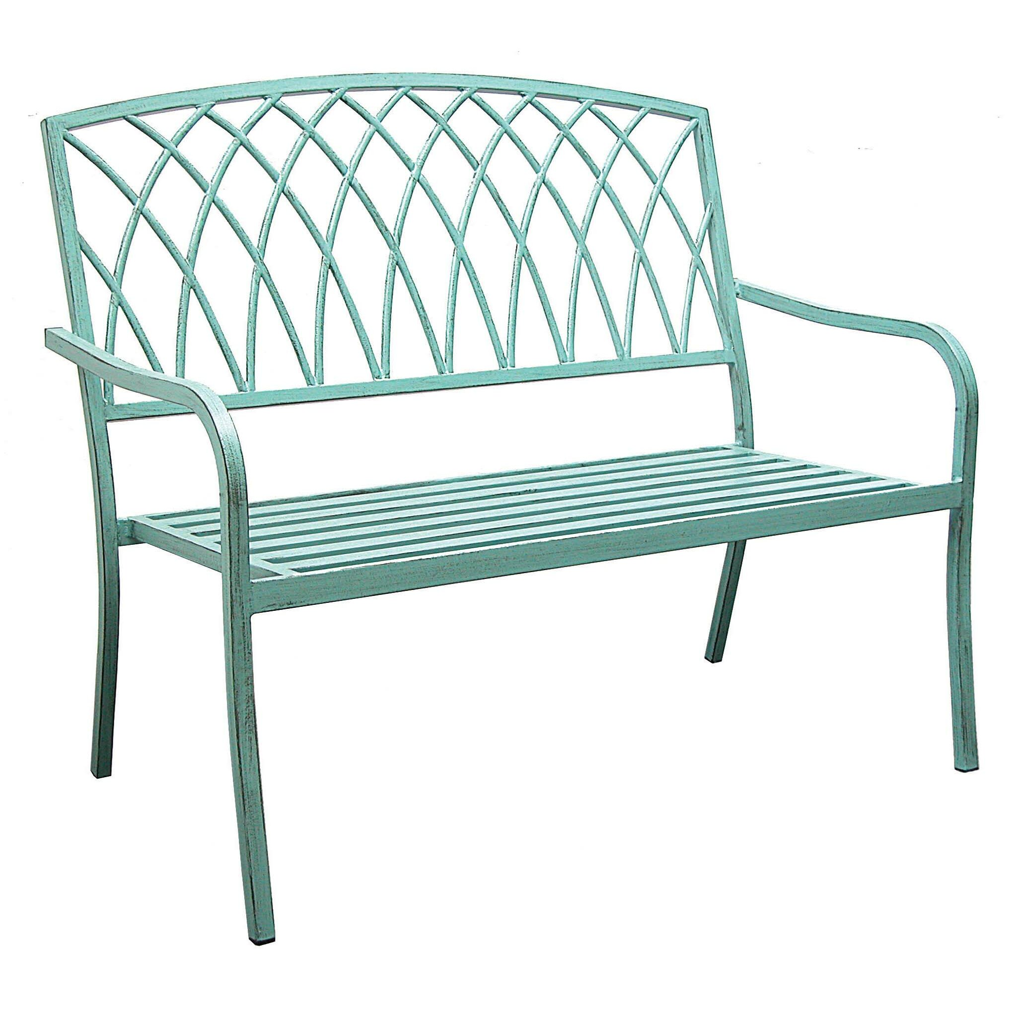 Hearth Bench: Innova Hearth And Home Lancaster Steel Park Bench