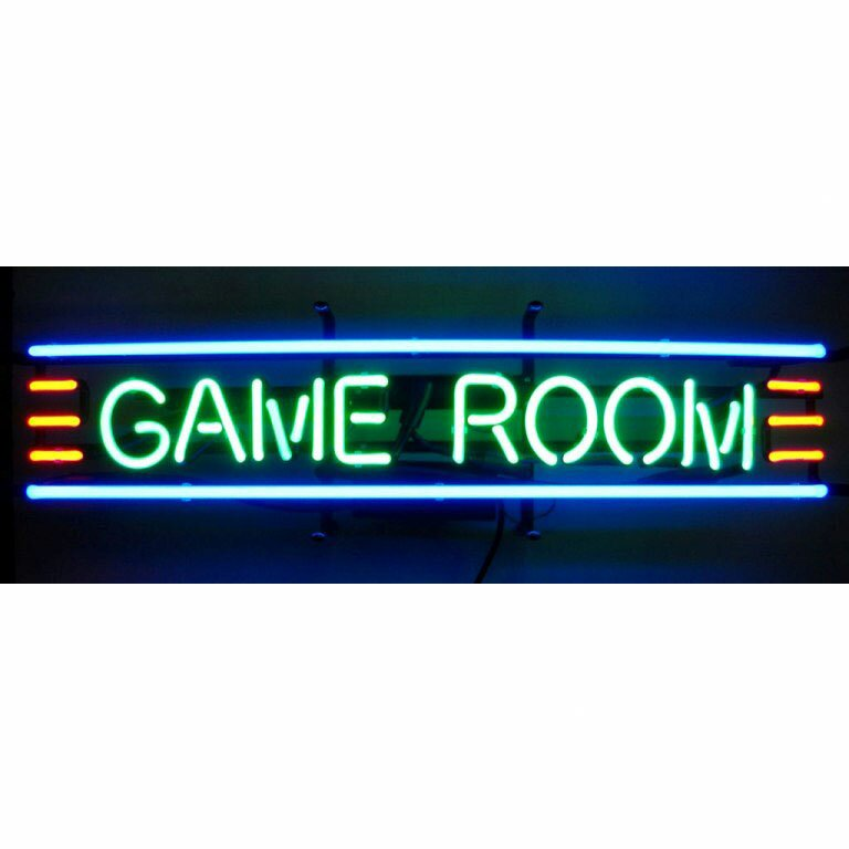 Neonetics Business Signs GAME ROOM Neon Sign amp Reviews Wayfair