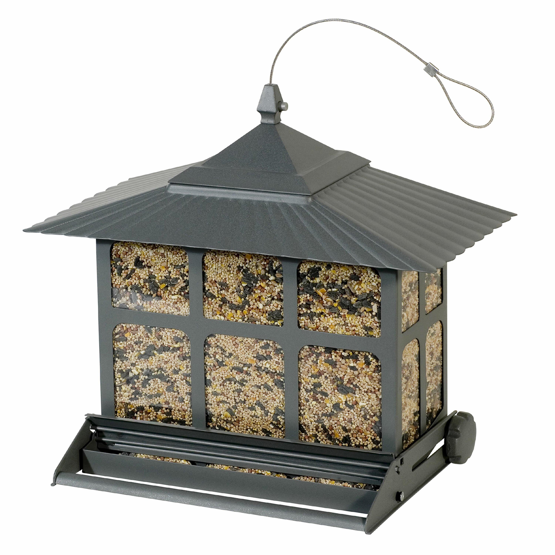 Outdoor seasons squirrel be gone iii bird feeder-9633