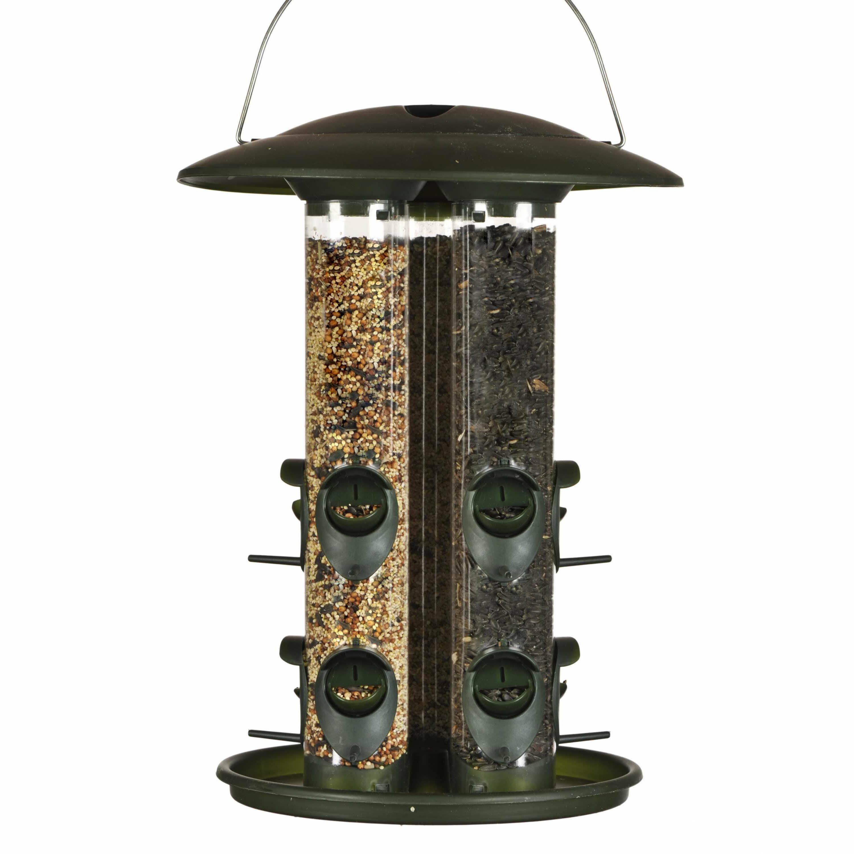 Reject Shop Christmas Tree Lights: Birdscapes Safari Triple Tube Bird Feeder & Reviews