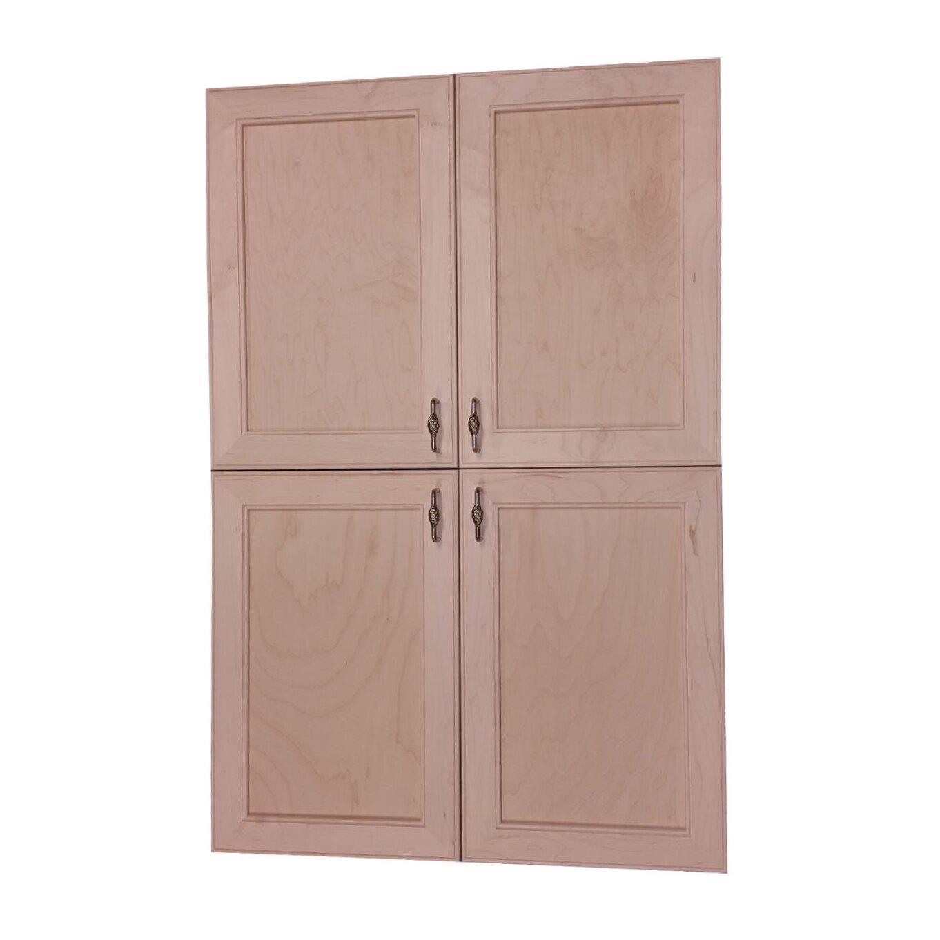 Wg wood products village kitchen pantry wayfair for Wayfair kitchen cabinets