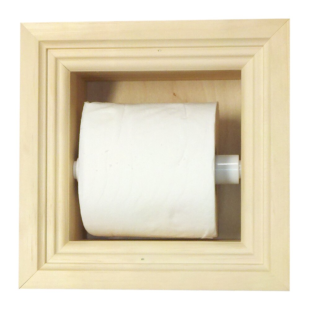 Wg Wood Products Recessed Toilet Paper Holder Reviews
