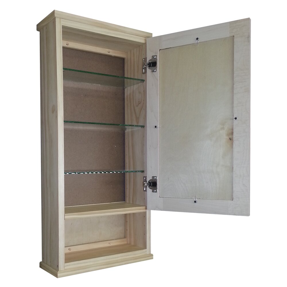 WG Wood Products Shaker Series X 31 5 Wall Mounted Cabinet