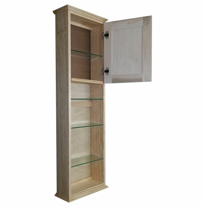 Wg Wood Products Ashley Series 15 25 Quot X 49 5 Quot Wall Mounted