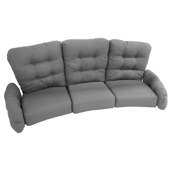 Meadowcraft Vinings Deep Seating Sofa With Cushion