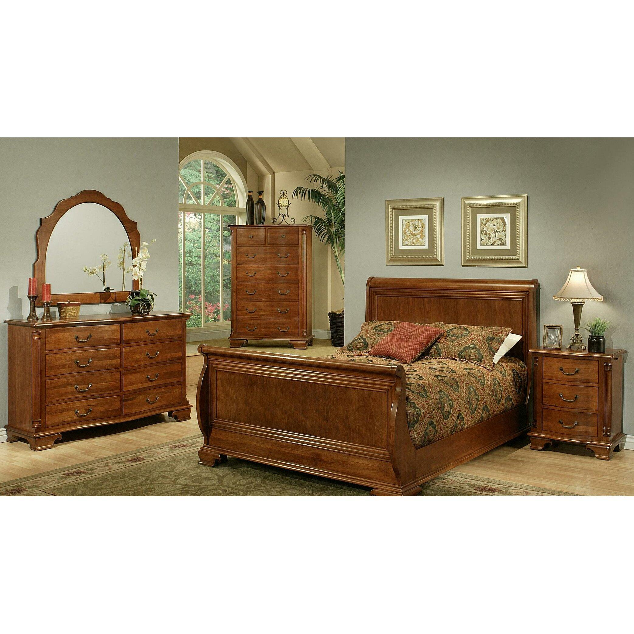 AYCA Furniture American Heritage Sleigh Customizable