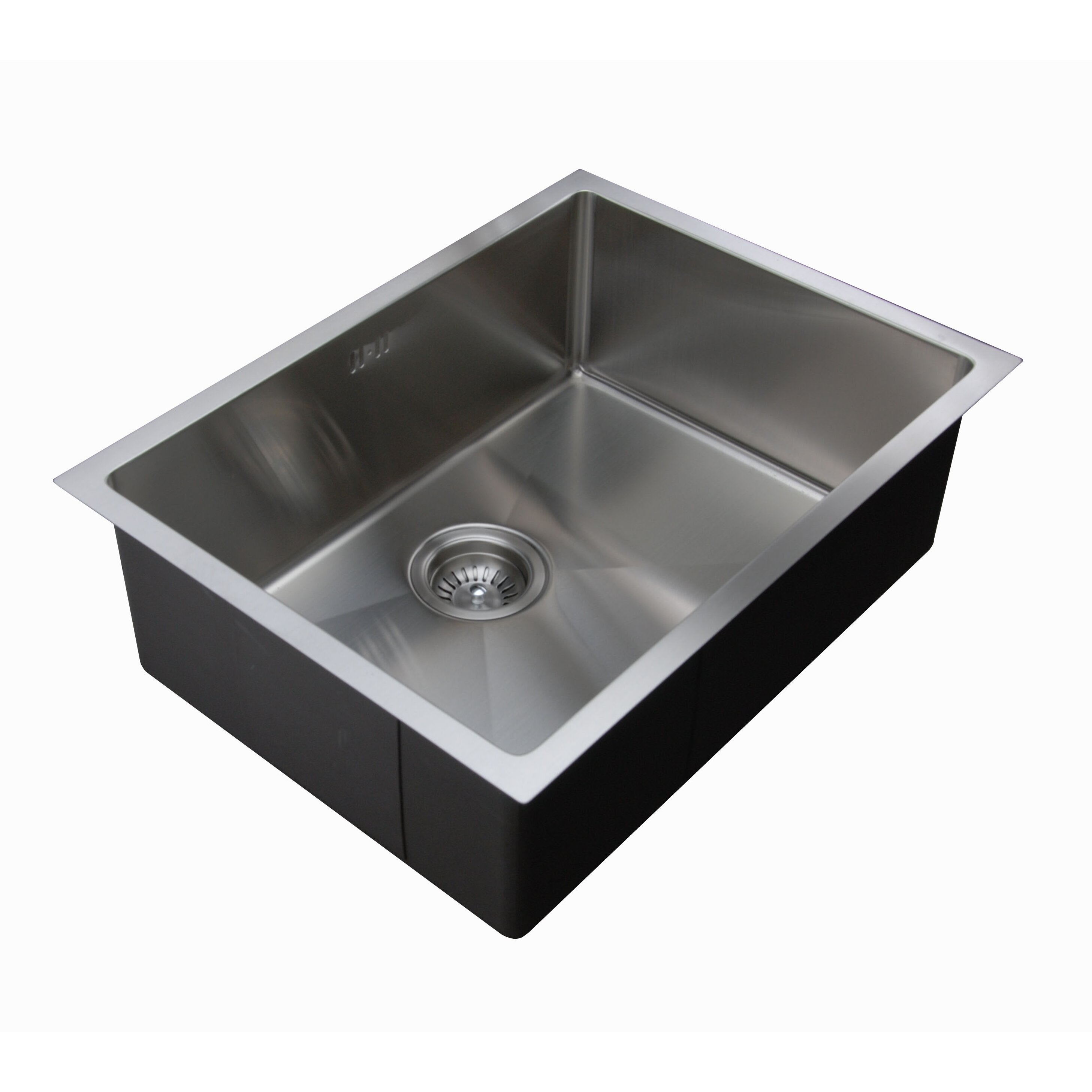 Ukinox 22 X 18 Undermount Single Bowl Stainless Steel Kitchen Sink Wayfair