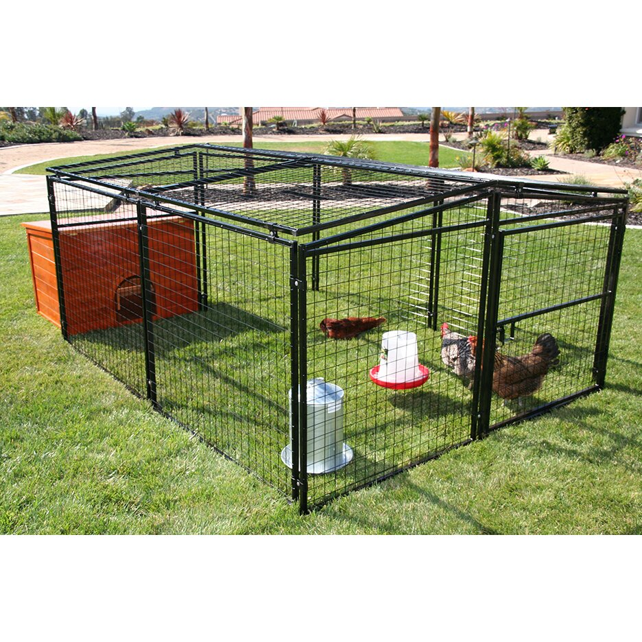 Rugged Ranch Universal Welded Wire Dog Pen Chicken Coop
