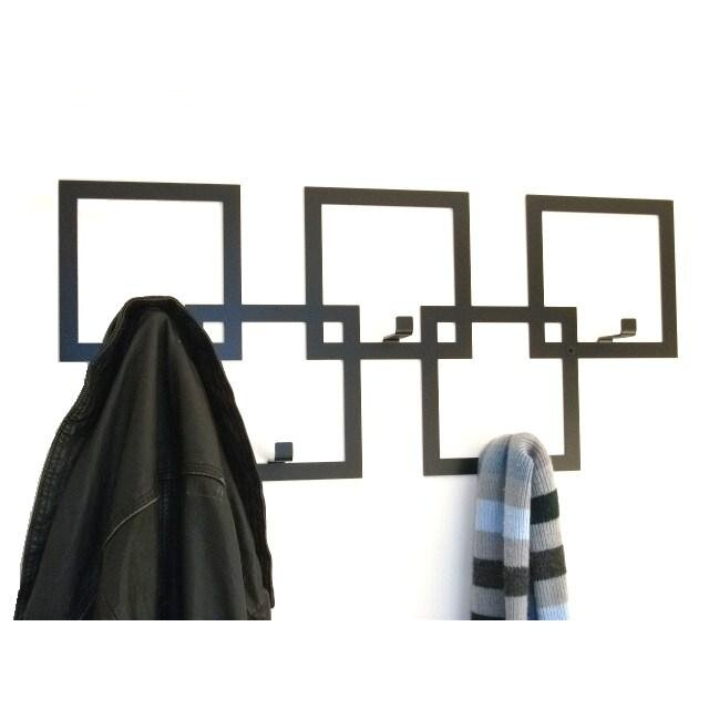 The Metal House Squares Wall Mounted Coat Rack Reviews