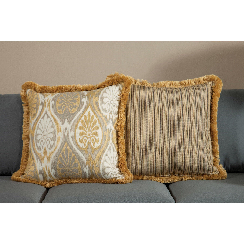 South Sea Rattan Aura Large Indoor/Outdoor Sunbrella Throw Pillow Wayfair