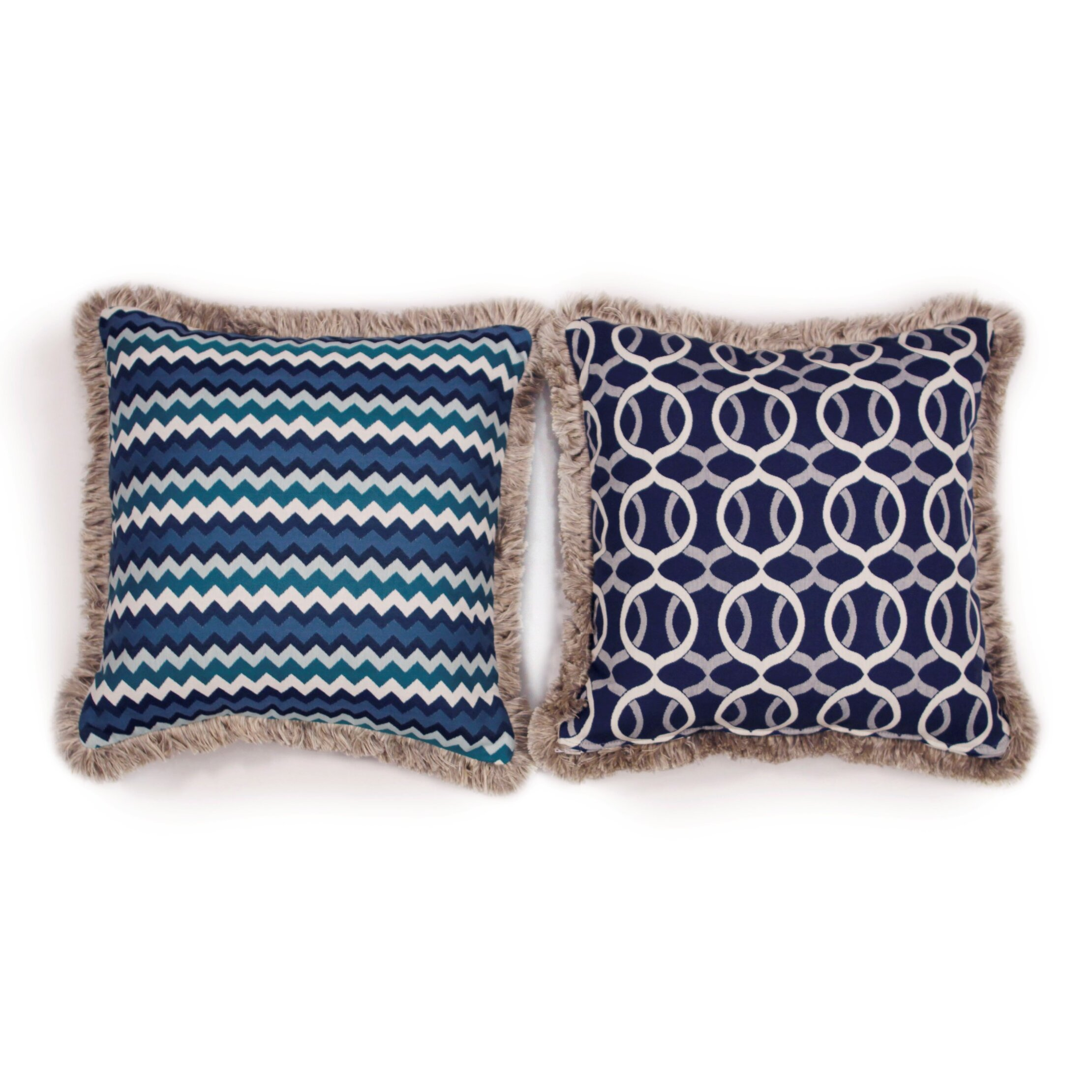 Large Decorative Outdoor Pillows : South Sea Rattan Bondi Large Indoor/Outdoor Sunbrella Throw Pillow Wayfair