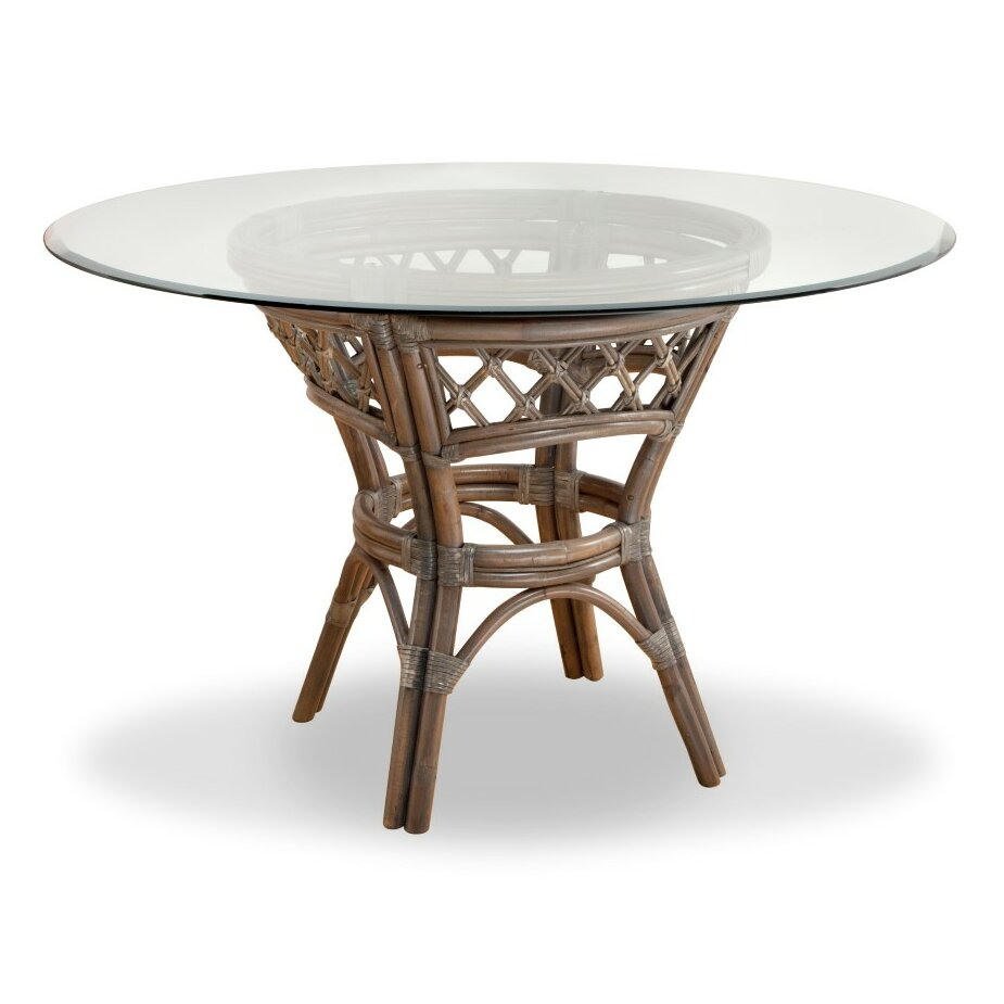 South sea rattan nadine dining table for Wayfair dining table