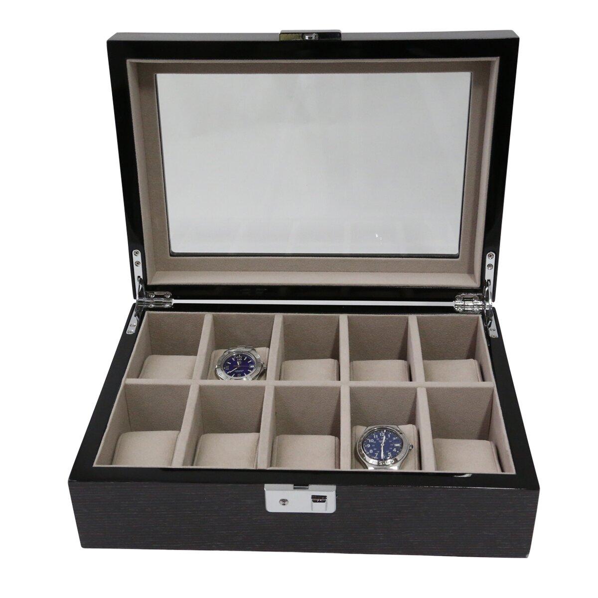 Bey berk 10 watch box reviews wayfair for Bey berk jewelry box