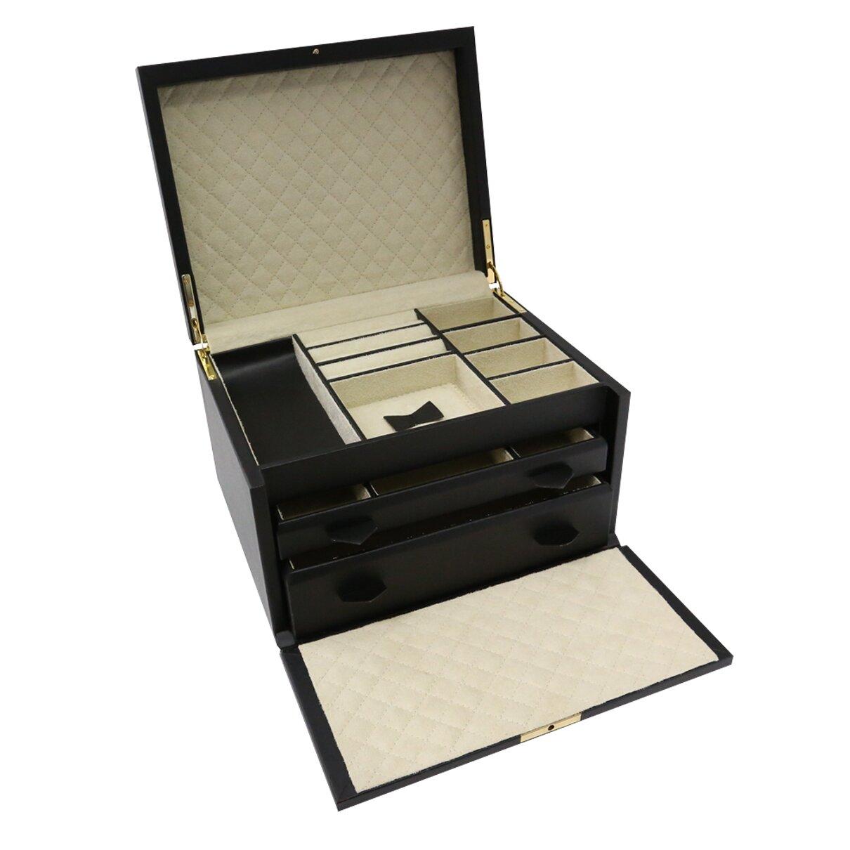 Bey berk 3 level jewellery box for Bey berk jewelry box