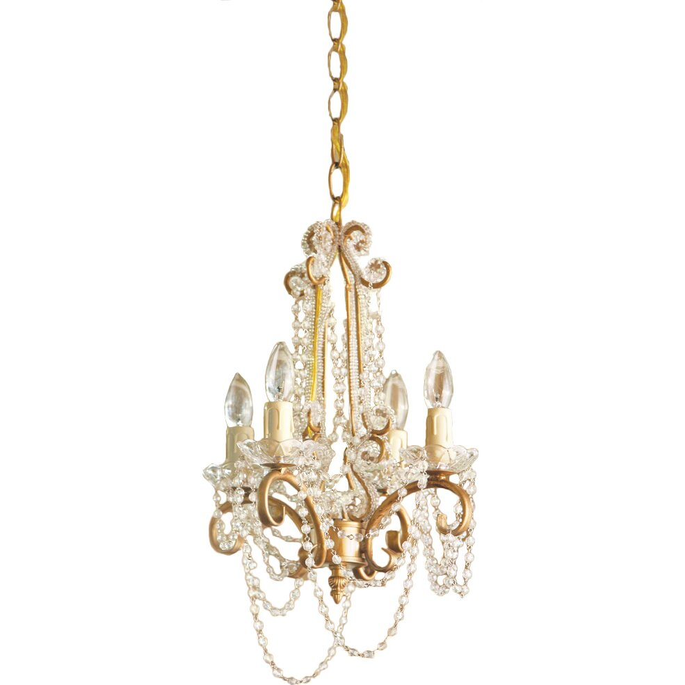 Wayfair Chandelier: CBK 4 Light Mini Chandelier & Reviews