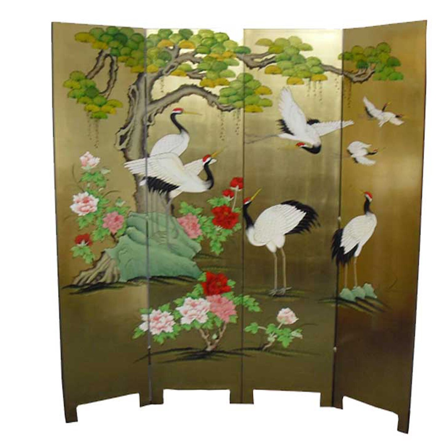 Grand international decor 182cm x 180cm 4 panel room for Grand international decor
