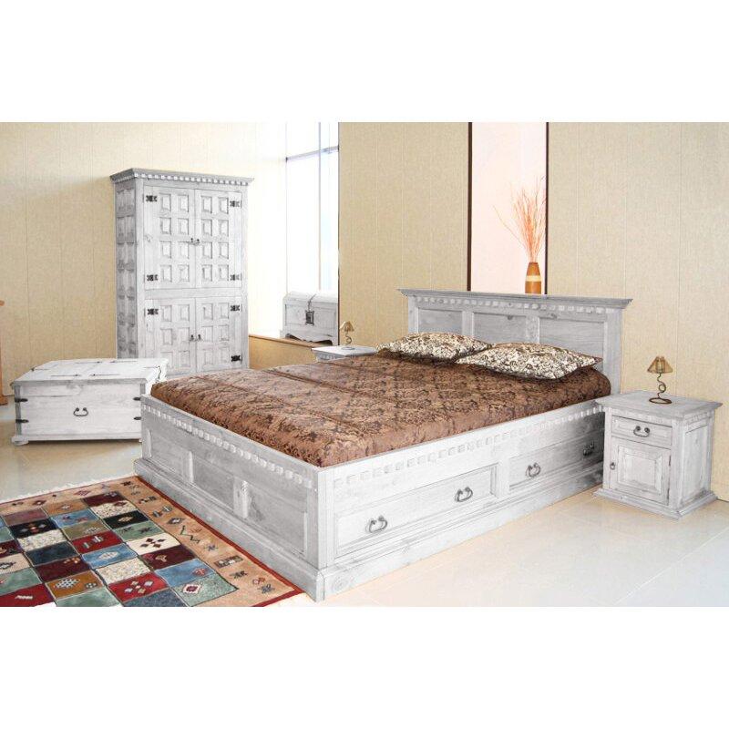 m belkultura nachttisch hacienda mit schublade. Black Bedroom Furniture Sets. Home Design Ideas