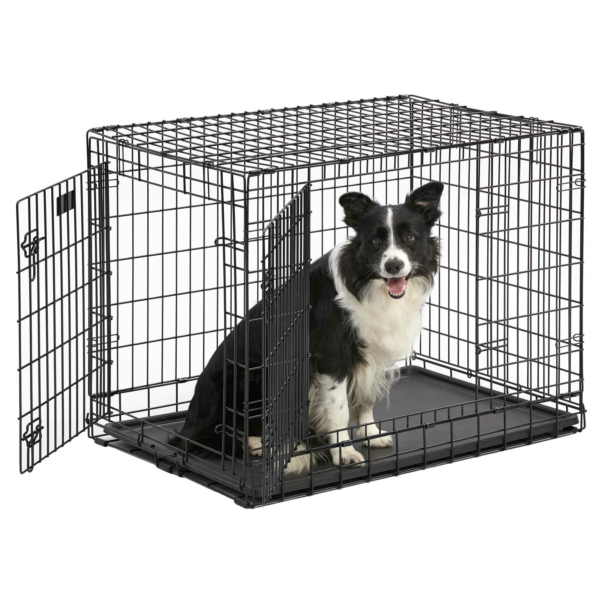 Midwest Homes For Pets Ultima Pro Fold and Carry Double  : Midwest Homes For Pets Ultima Pro Fold and Carry Triple Door Pet Crate 7XXUP from www.wayfair.com size 2000 x 2000 jpeg 613kB