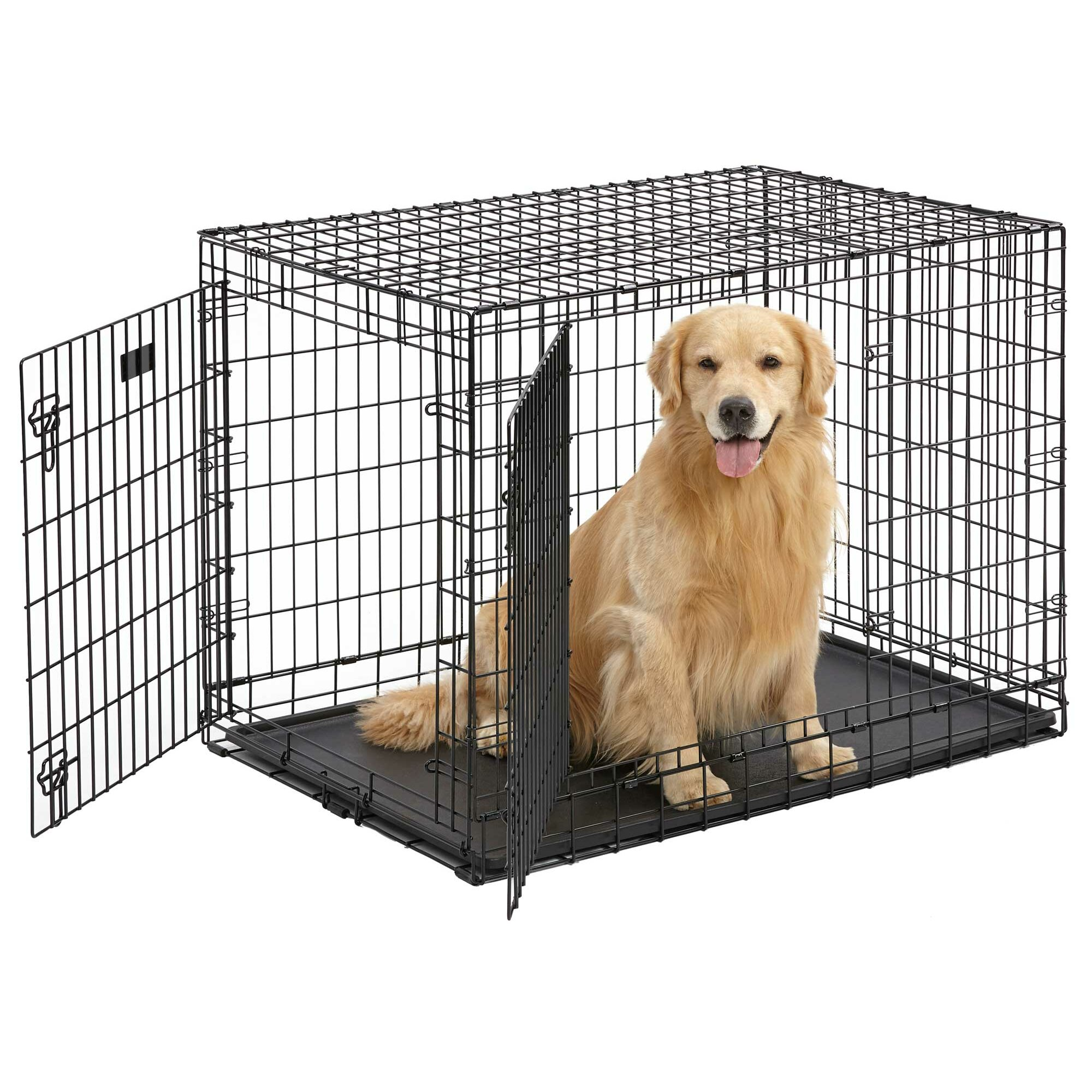Midwest Homes For Pets Ultima Pro Fold and Carry Double ...