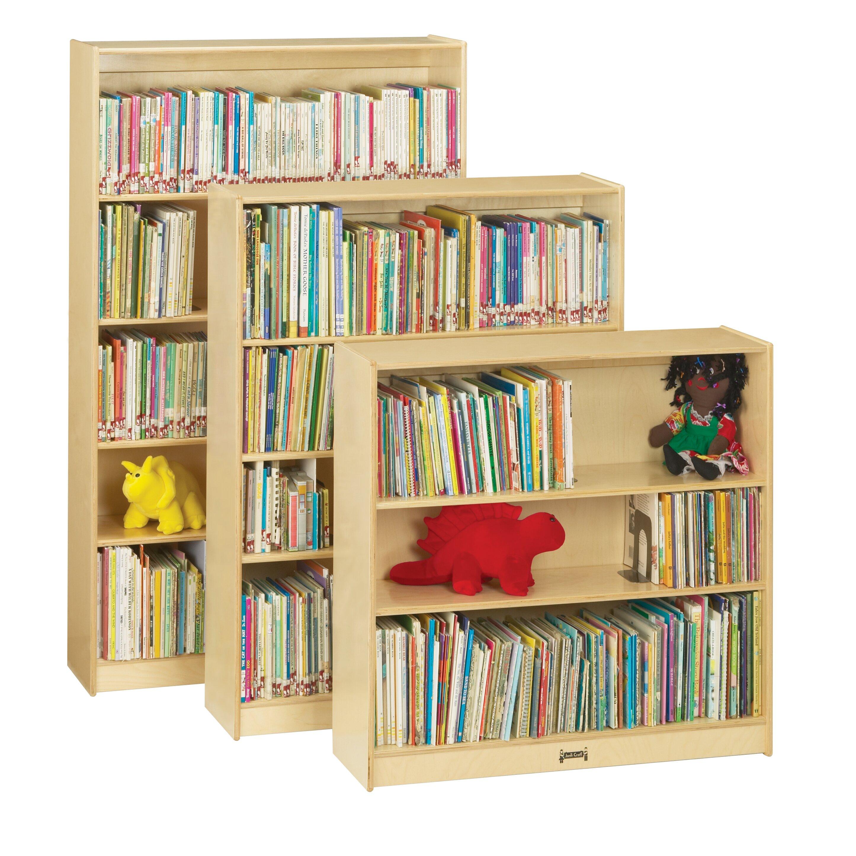 jonti craft bookcase wayfair. Black Bedroom Furniture Sets. Home Design Ideas