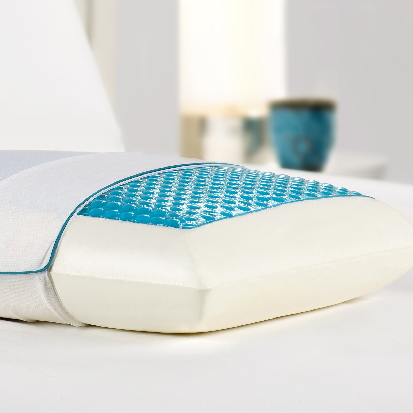 Modern Home Memory Foam Gel Pillow : Comfort Revolution Bed Memory Foam and Hydraluxe Gel Pillow & Reviews Wayfair.ca