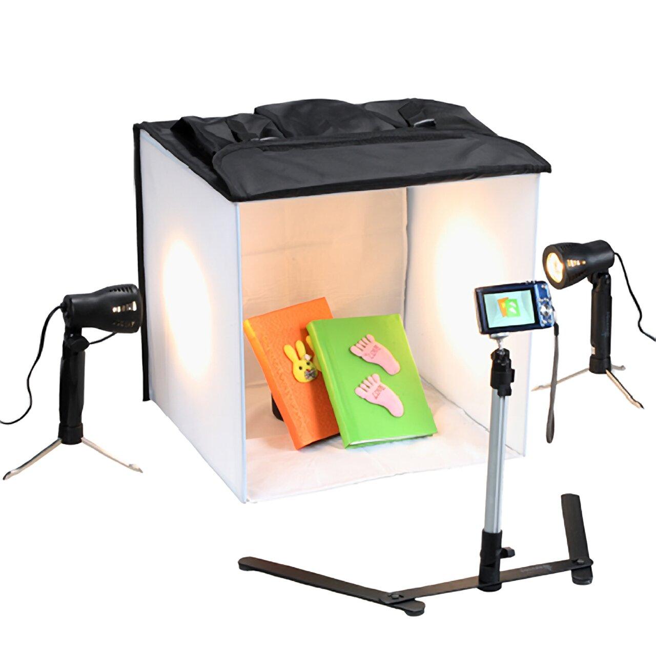 Studio Lighting Box: Square Perfect Studio In Box Light Tent Cube & Reviews