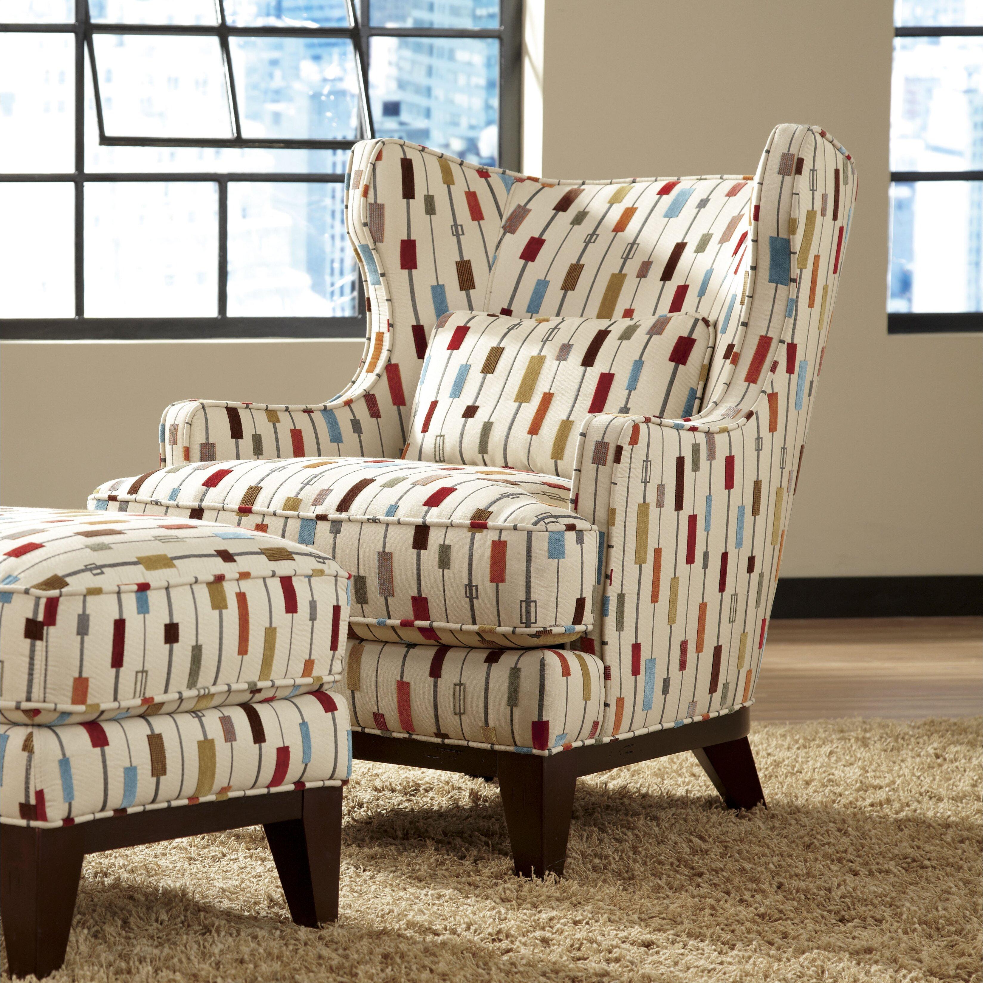 simon li richard wingback chair and ottoman reviews. Black Bedroom Furniture Sets. Home Design Ideas