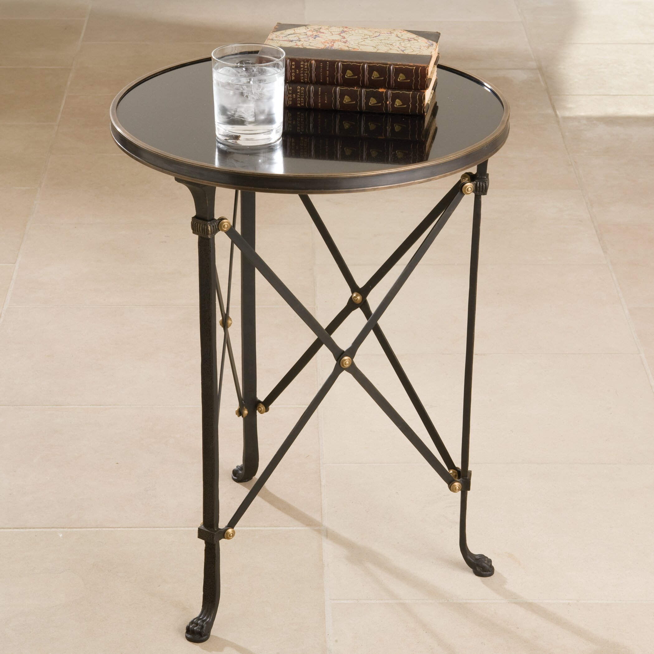 Global Views Draw Attention End Table & Reviews