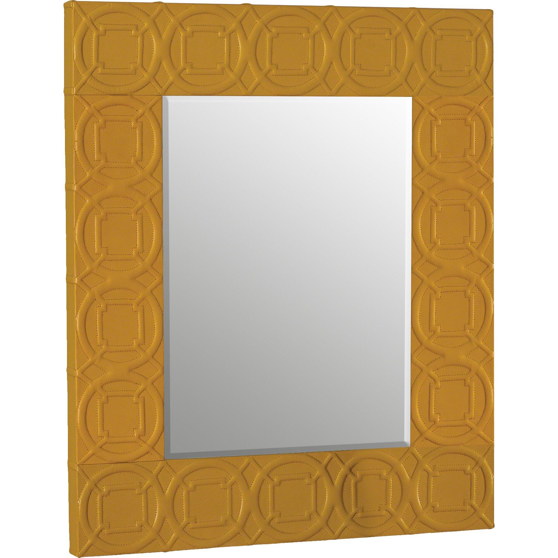 Global Views Arabesque Trapunto Wall Mirror & Reviews