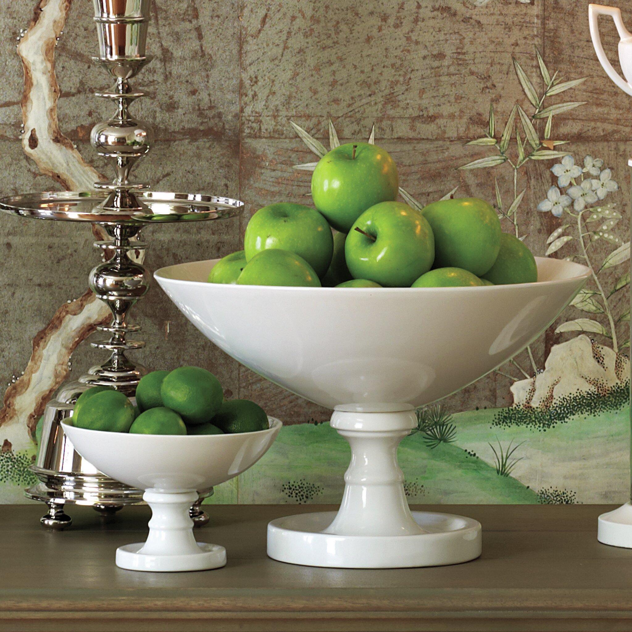 Global Views Grand Pedestal Fruit Bowl Amp Reviews Wayfair