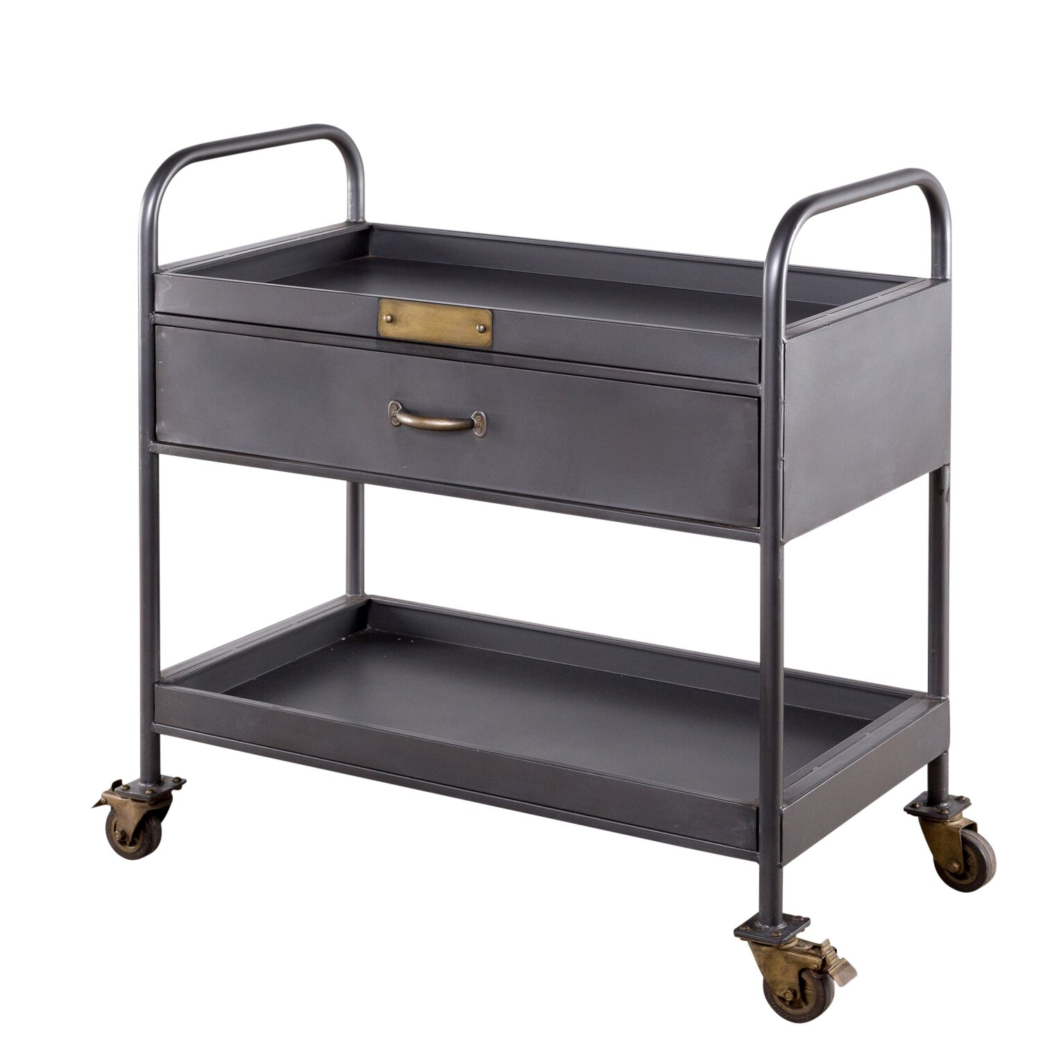 Wildon home hobart bar serving cart wayfair