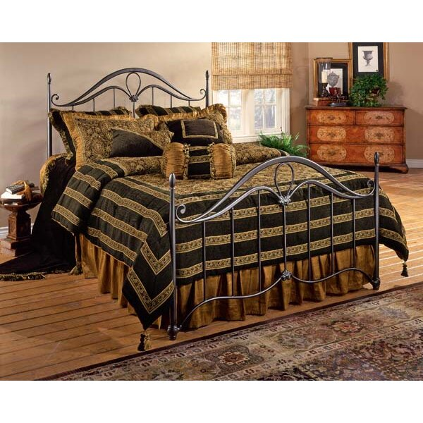 Hillsdale kendall panel bed reviews wayfair for Furniture 2 day shipping