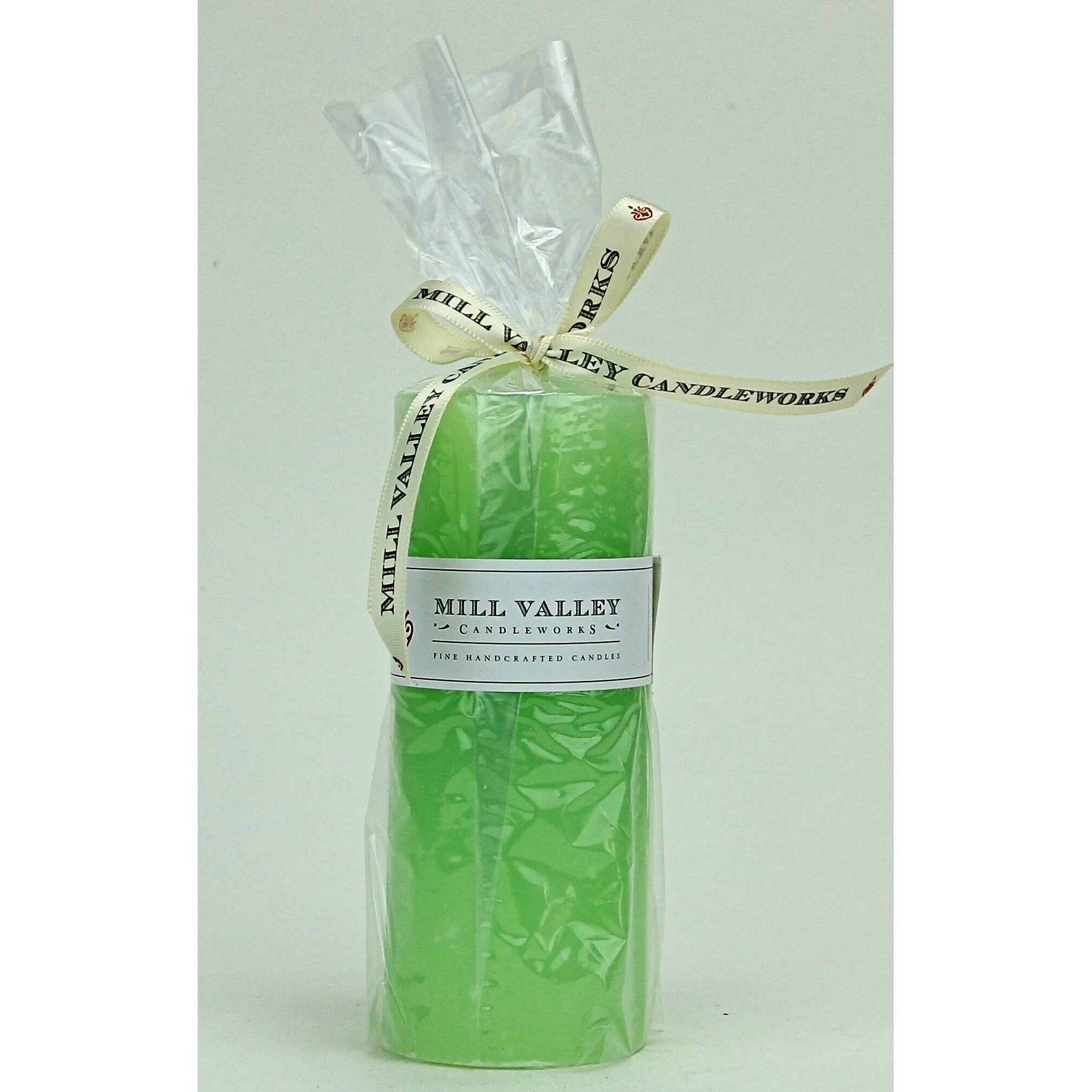 Mill valley candleworks spa day scented pillar candle for Spa smelling candles