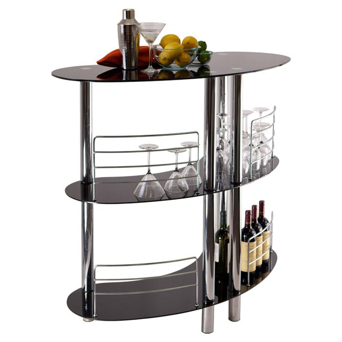 Winsome Martini Mini Bar Reviews Wayfair