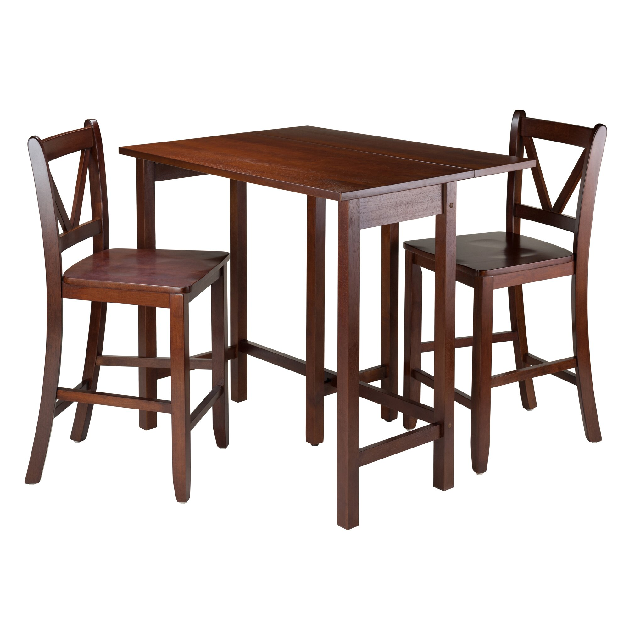 Winsome lynnwood 3 piece dining set reviews for 3 piece dining room set