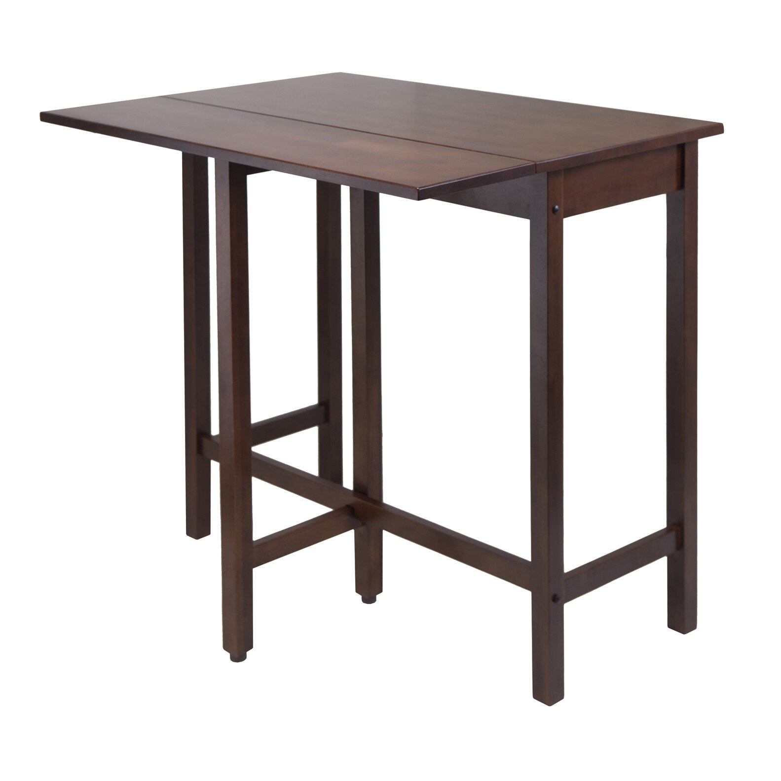 Winsome lynnwood counter height extendable dining table for Tall dining table