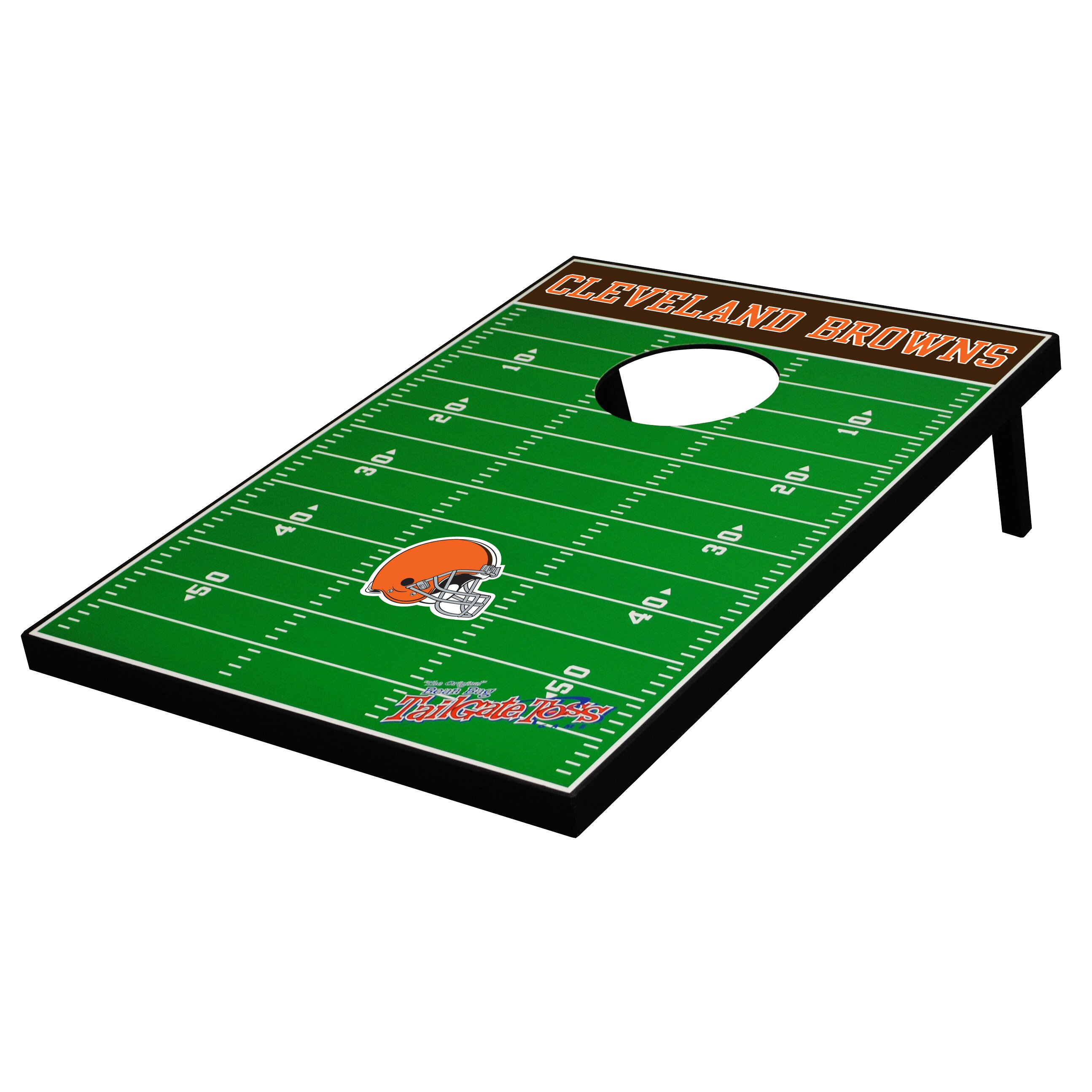 Tailgate Toss Nfl Football Cornhole Set Amp Reviews Wayfair