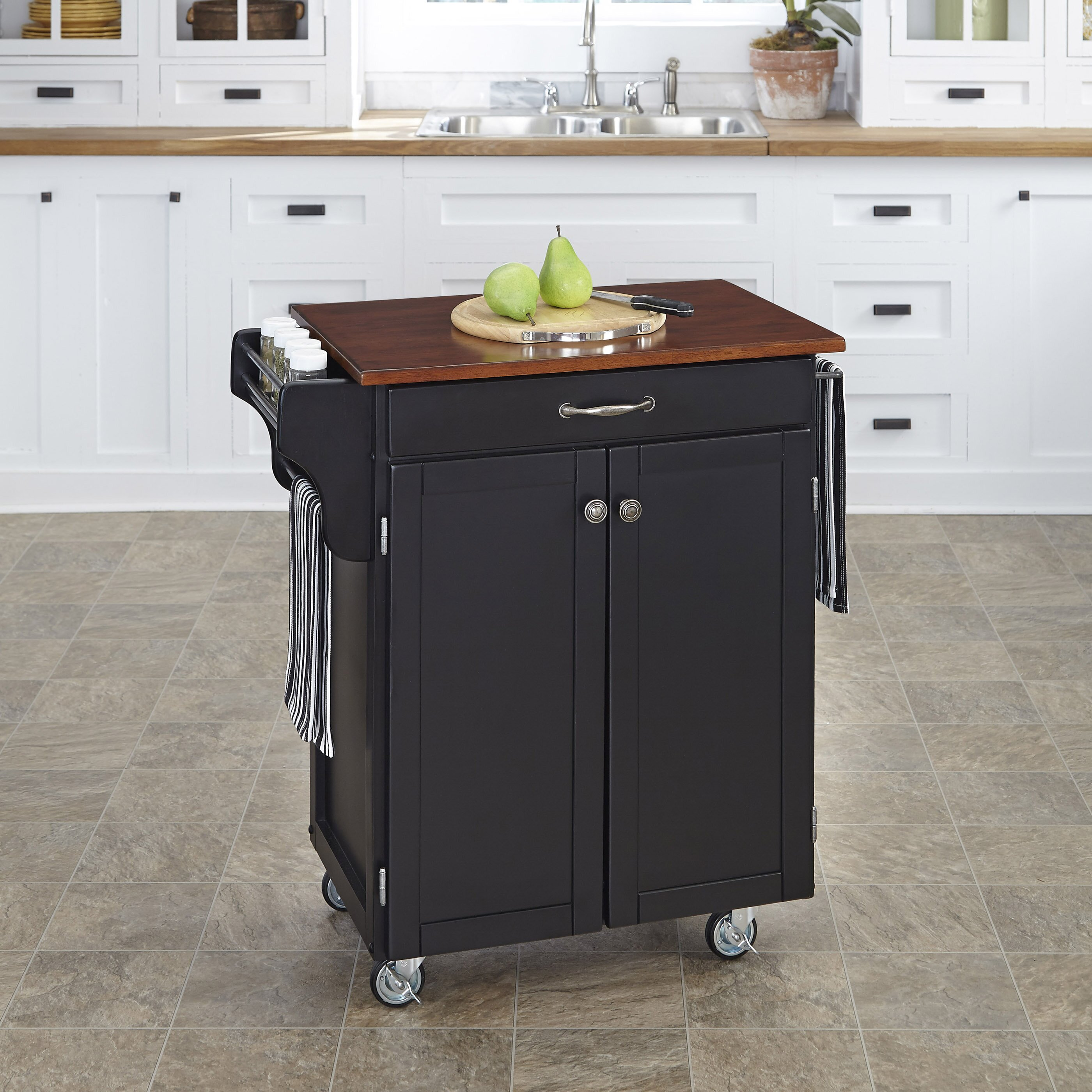 Home Styles Cuisine Kitchen Cart & Reviews