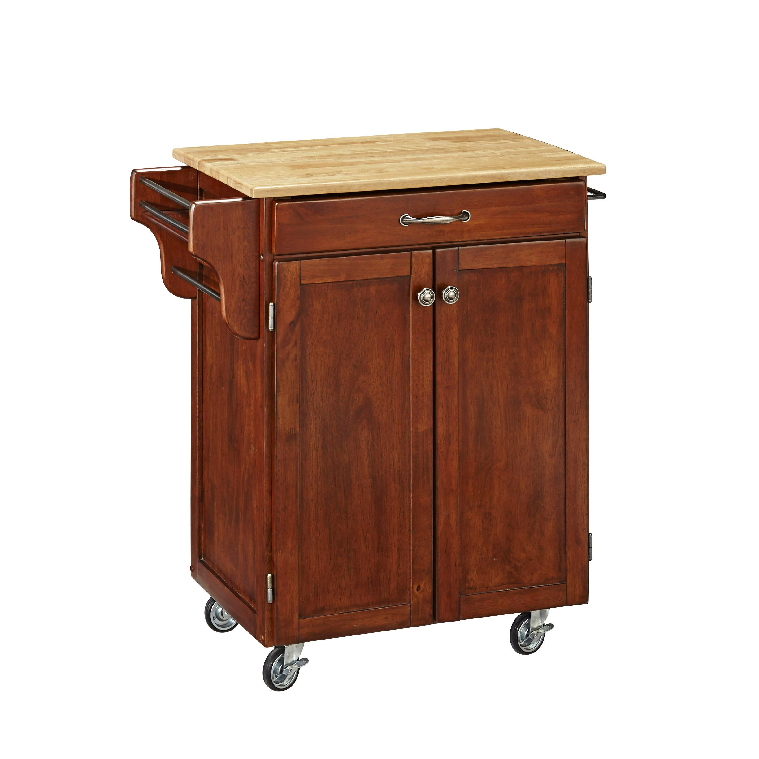 Home Styles Cuisine Kitchen Cart Reviews Wayfair