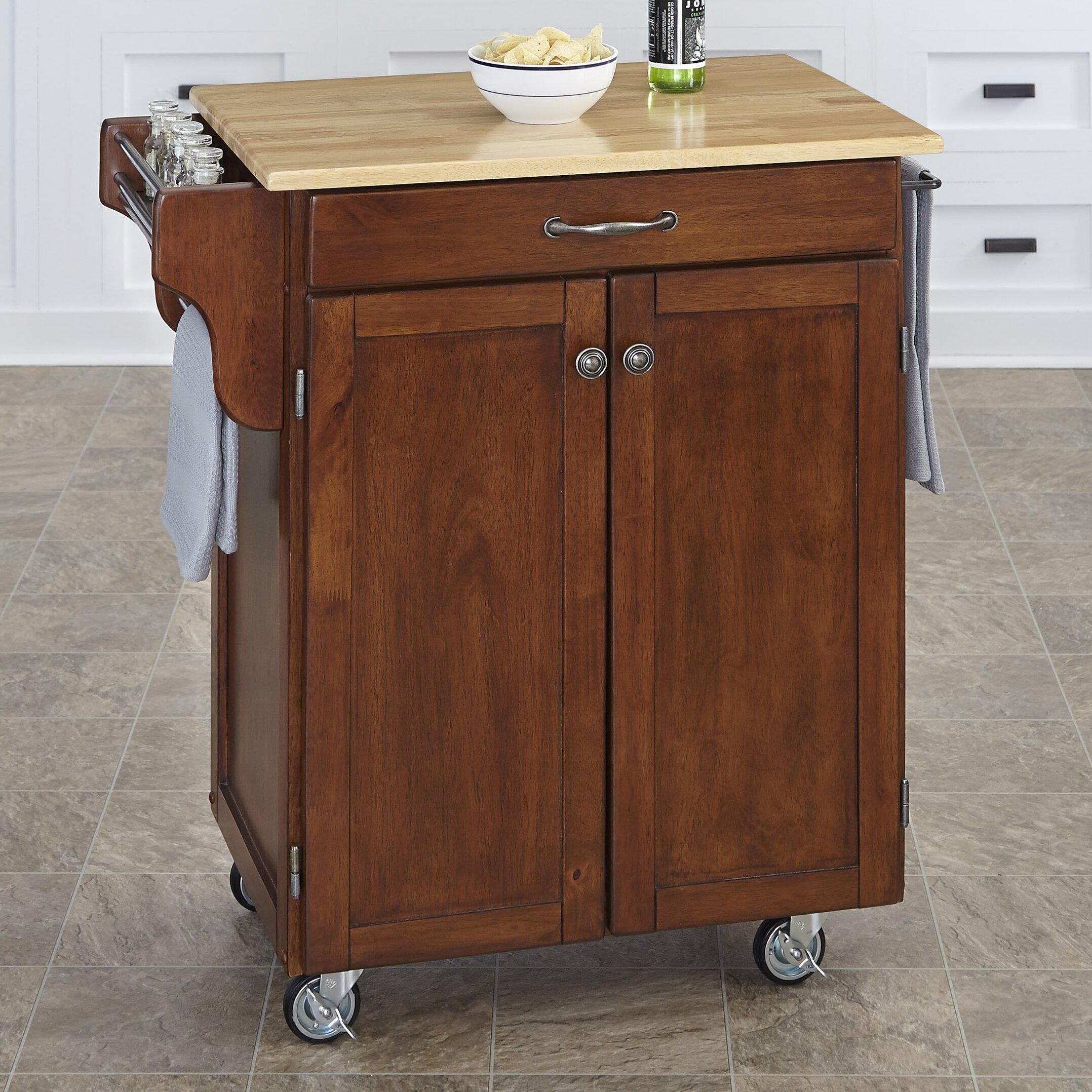 Home Styles Cuisine Kitchen Cart Reviews Wayfair