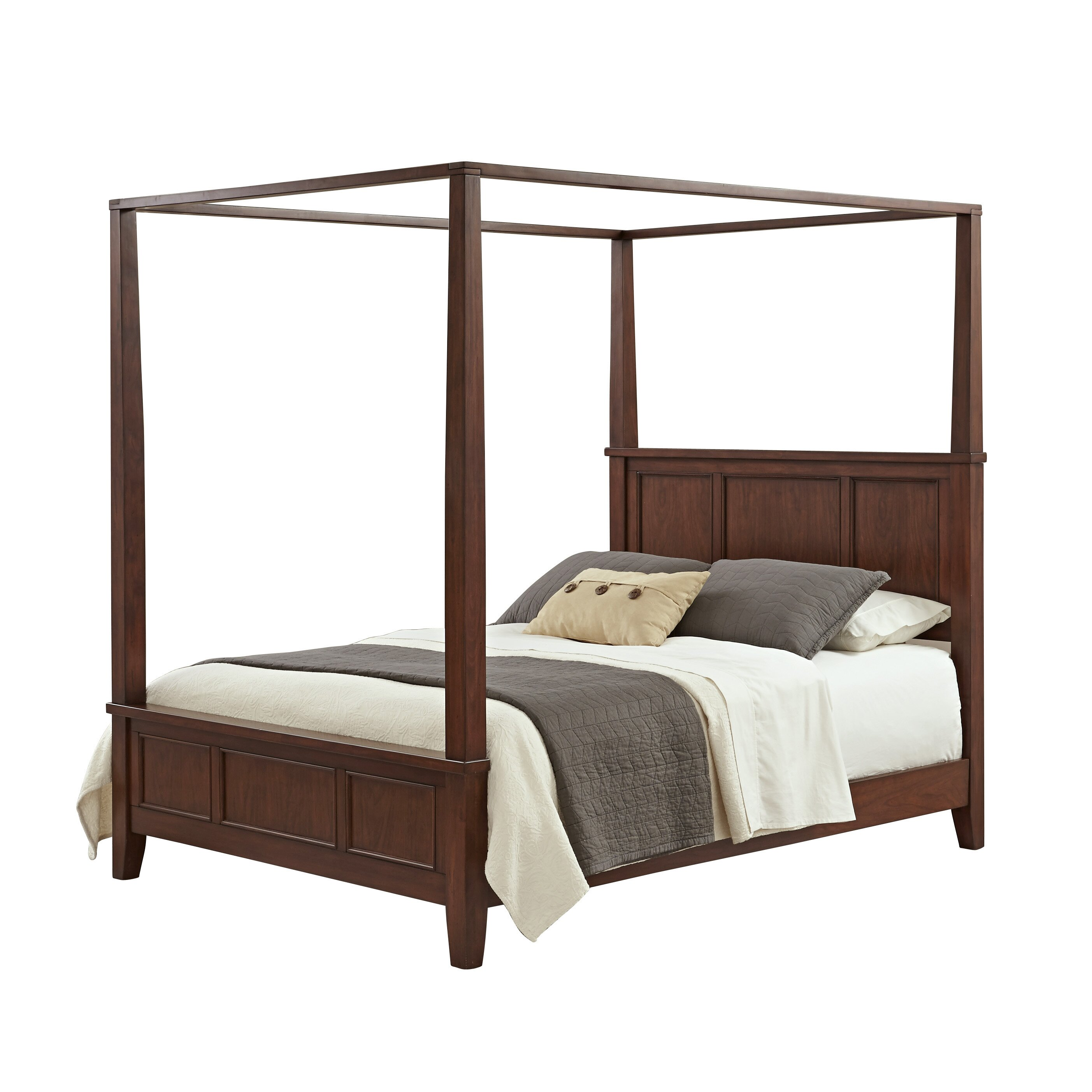 Home styles chesapeake canopy bed reviews wayfair - Beds styles pictures ...