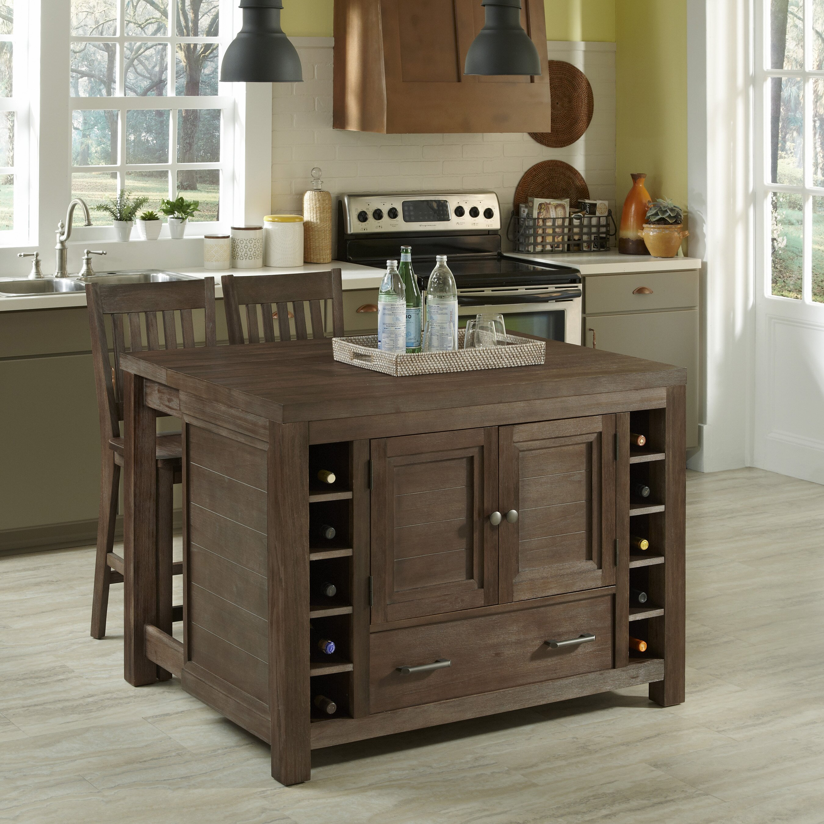 Home Styles Barnside Kitchen Island & Reviews