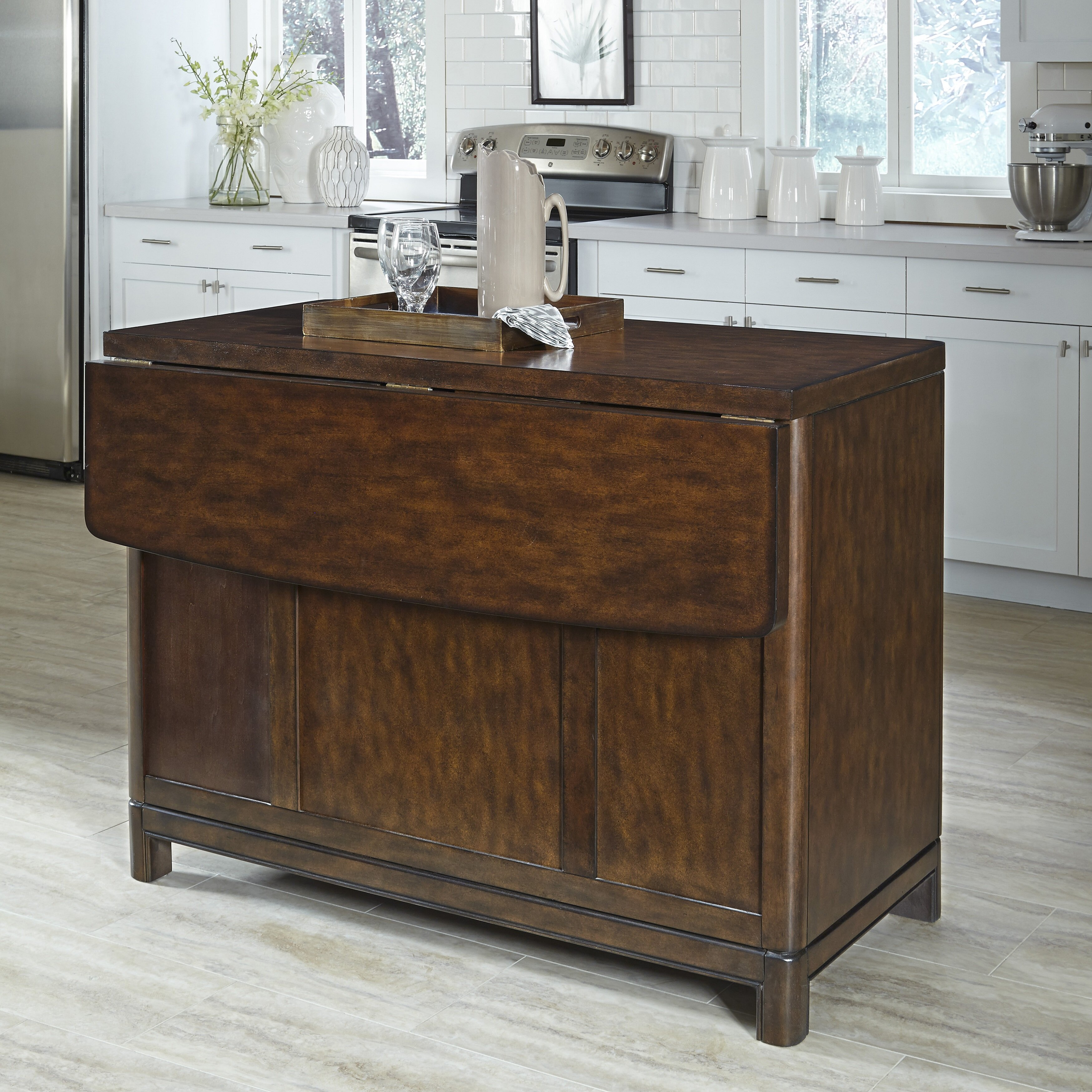 home styles kitchen island home styles crescent hill kitchen island amp reviews wayfair 4306