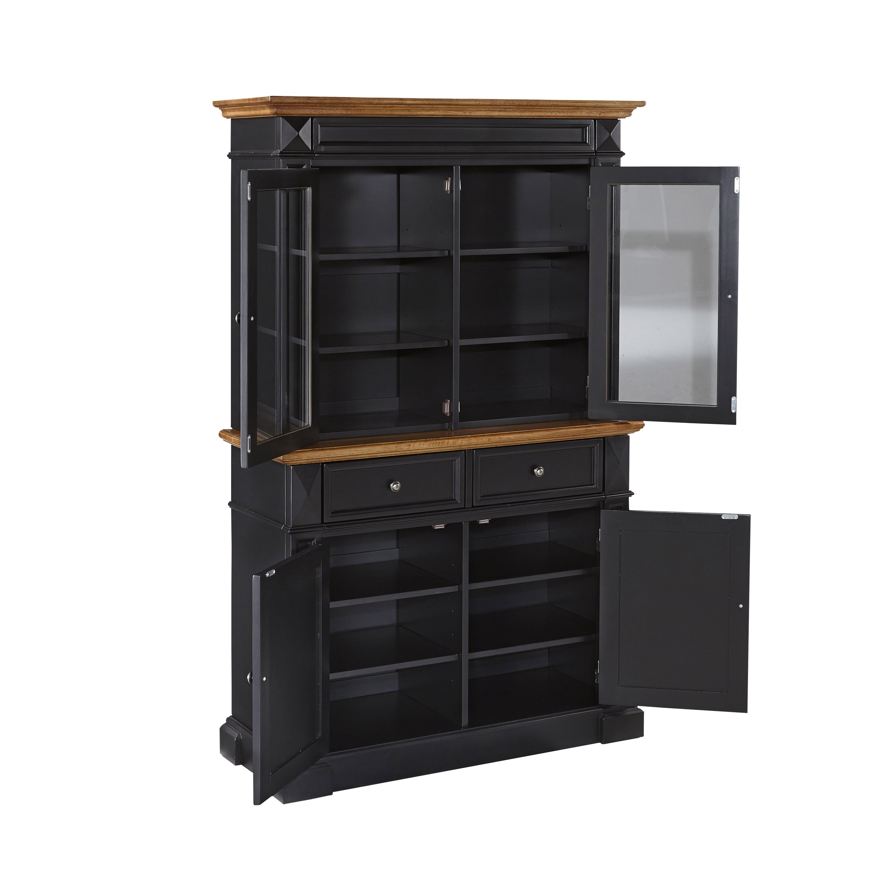 Home styles americana china cabinet reviews wayfair for Wayfair kitchen cabinets