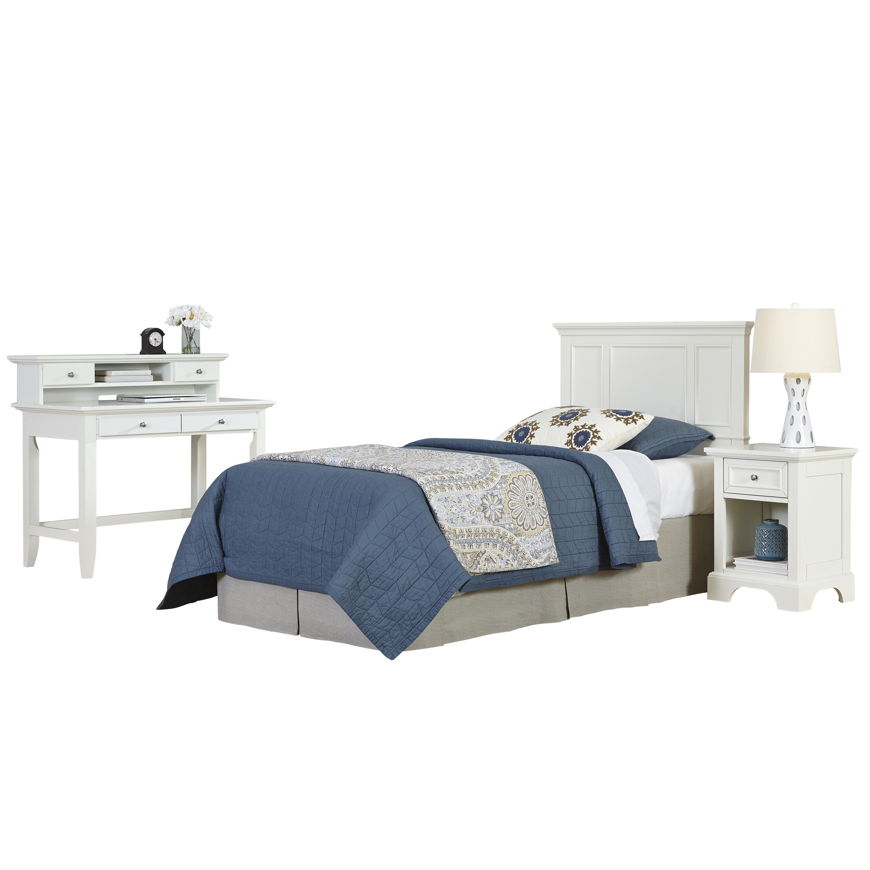 home styles naples panel 4 piece bedroom set wayfair. Black Bedroom Furniture Sets. Home Design Ideas