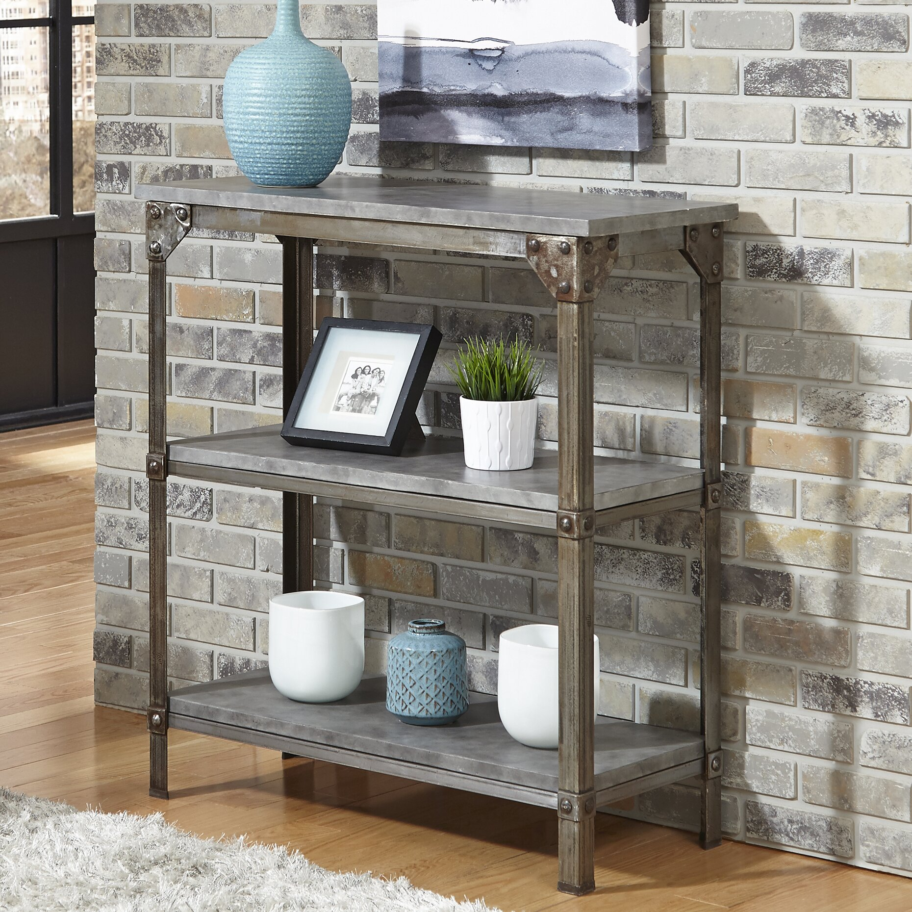 Home styles urban console table reviews wayfair for Homestyles com