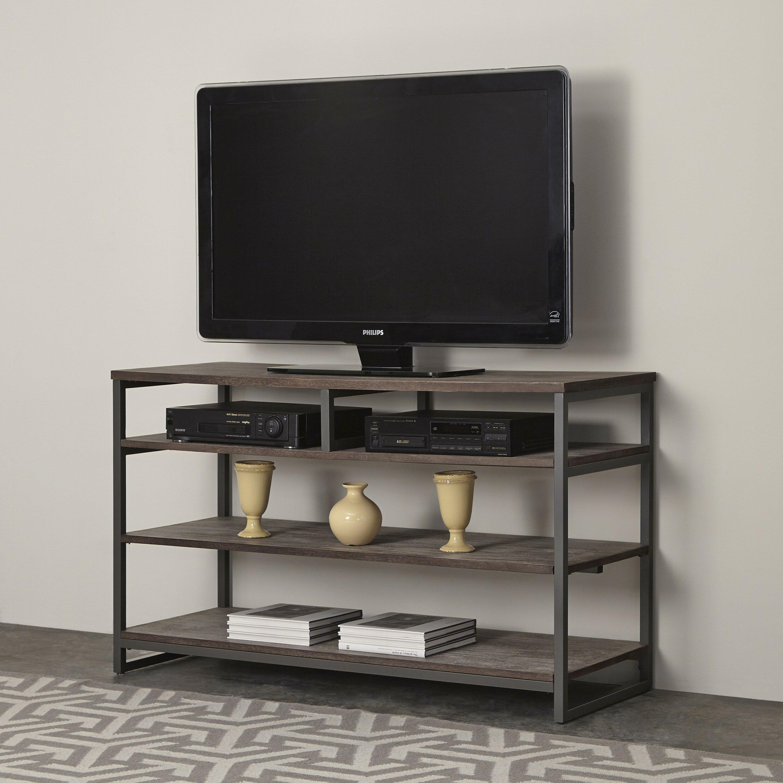 home styles barnside metro tv stand reviews wayfair. Black Bedroom Furniture Sets. Home Design Ideas