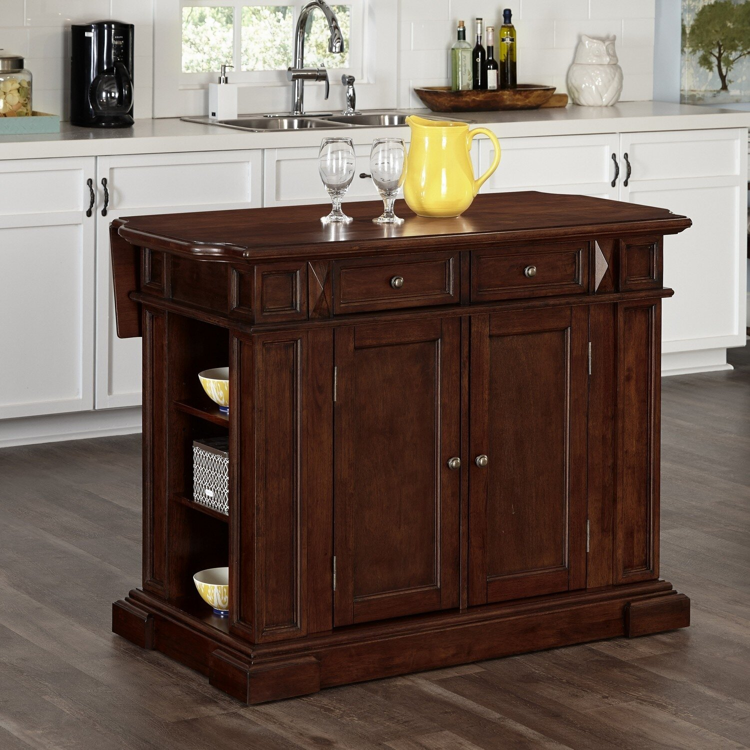 home styles americana kitchen island amp reviews wayfair home styles americana kitchen island wayfair