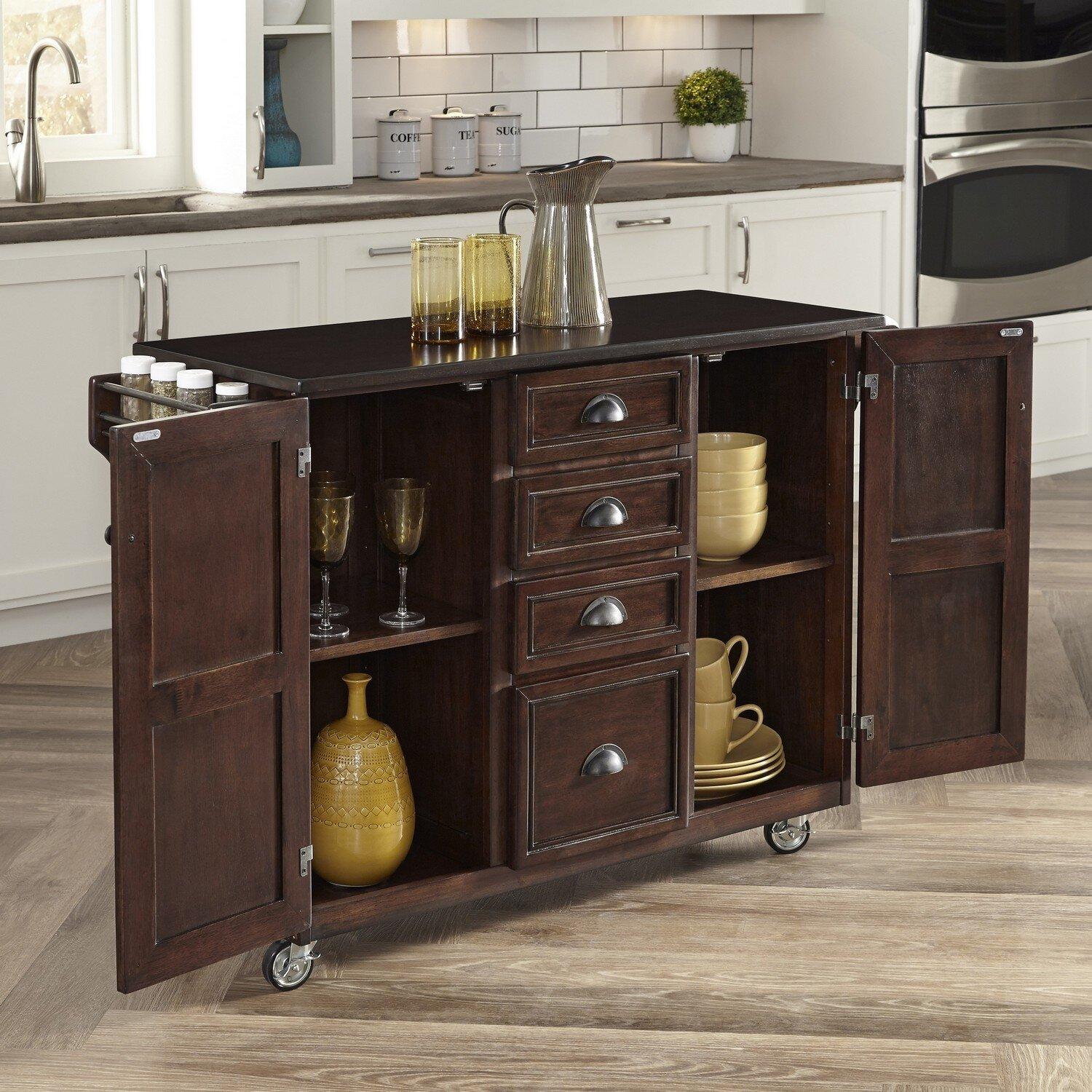 Home Styles Country Comfort Kitchen Island & Reviews
