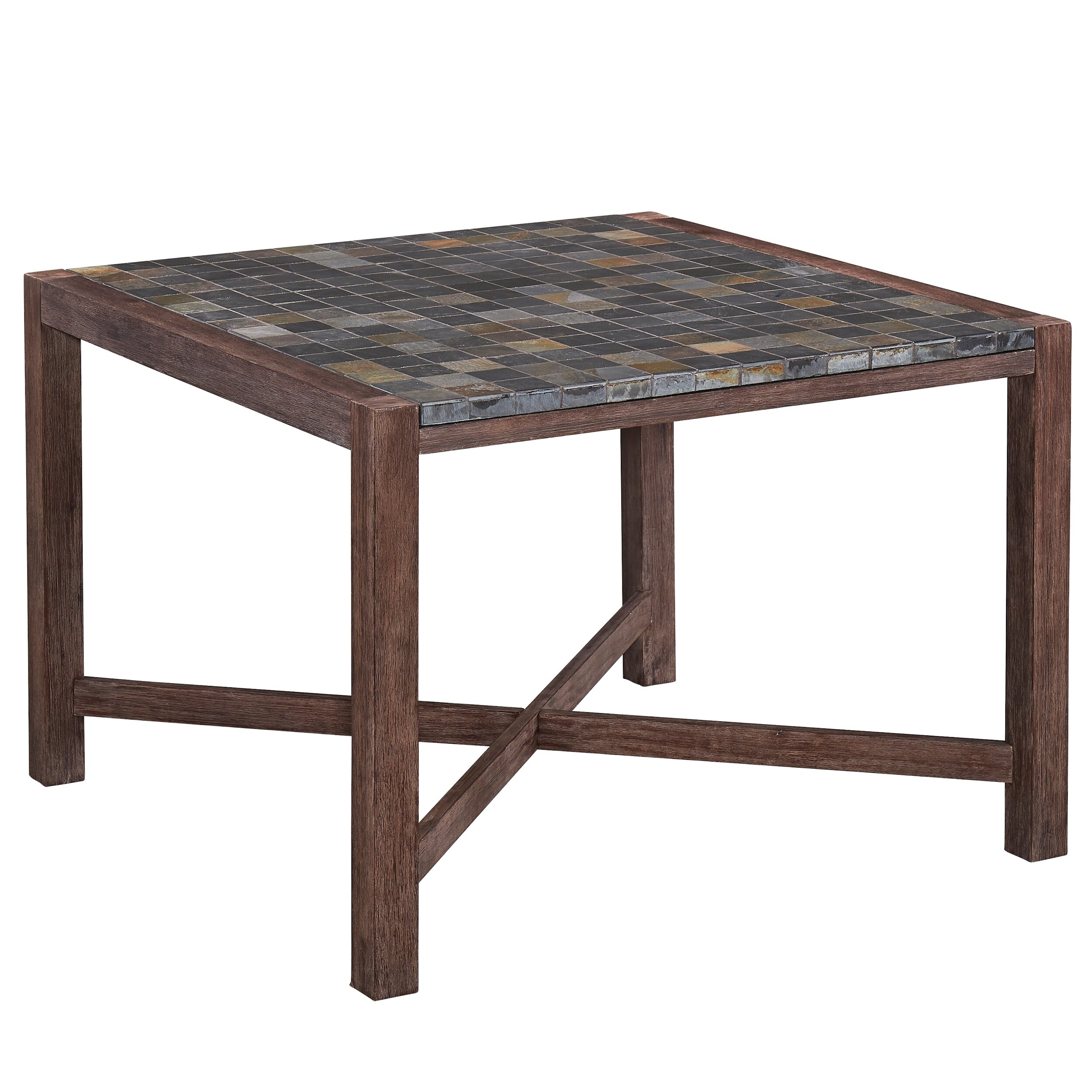 Home styles morocco square dining table wayfair for Dining table styles
